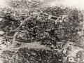 1918 de Medine nin uçaktan görünüşü ve medine surları